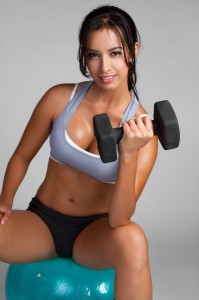 how to work out without changing your breast size